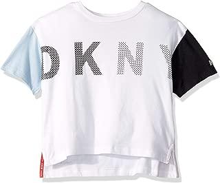 DKNY Girls' Big Color Block Top