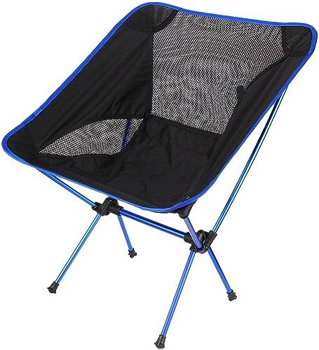 GAW de plein air Ultra lumière Pêche pliable Assise de chaise pour le camping randonnée loisirs pique-nique barbecue Chaise de plage Pêche outils