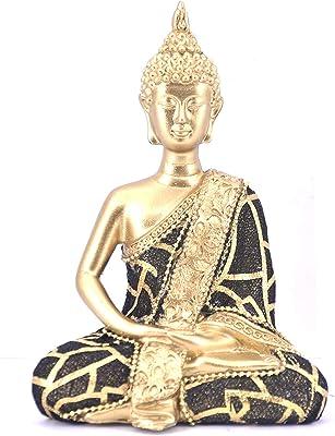 LHR Trading Inc Thai Buddha Meditating Peace Harmony Statue