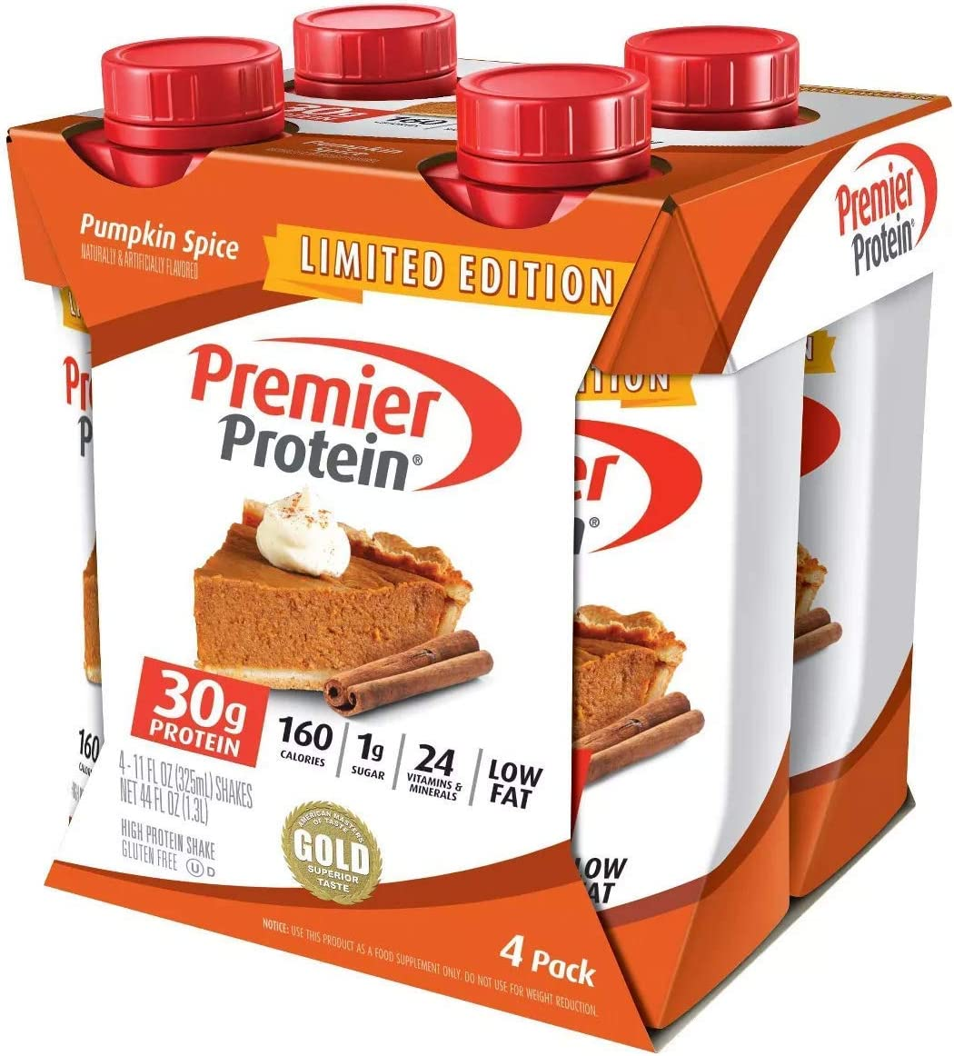 Premier Protein 30g Shake Pumpkin Pack Max 81% OFF 11 Oz Spice Los Angeles Mall Fl