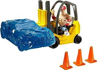 WWE Rumblers Forklift Smash Playset