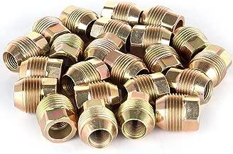 ECCPP Chrome Wheel Lug Nuts 24 Pieces 14x1.5 Hex Drive 7/8
