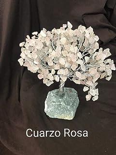 Arbol de la vida LAMARE (Cuarzo Rosa, Grande)