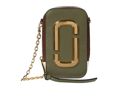 Marc Jacobs The Hot Shot Shoulder Bag (Classic Brown Multi) Shoulder Handbags
