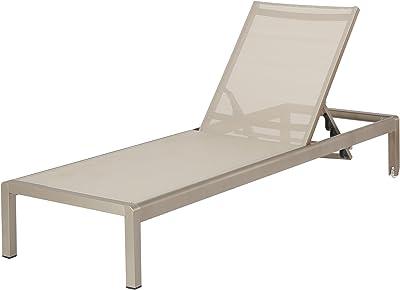 amazon com amazonia bahamas patio chaise lounger brown garden rh amazon com