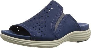 Aravon Beaumont Peep Slide womens Sandal