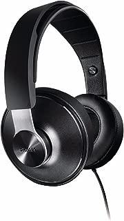 Philips SHP8000 Wired Over Ear Hi-Fi DJ Style Headphones - Black