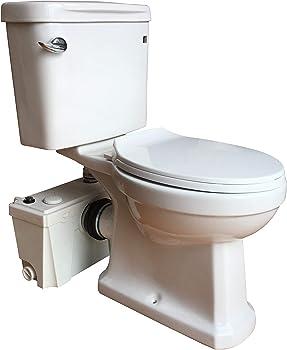 Sanimove 500W Three-Piece Upflush Toilet