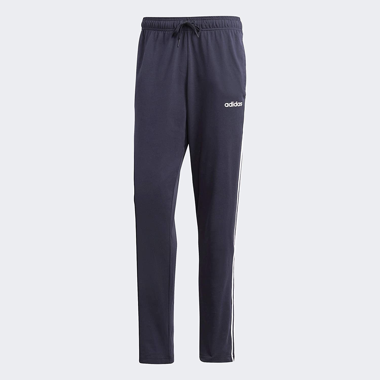 adidas Men's Essentials 3-Stripes Tapered Open Hem Pants