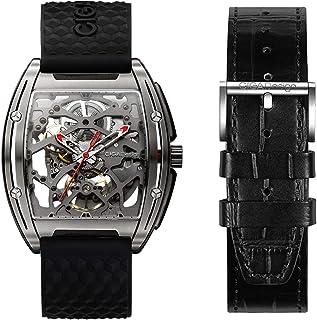 Sponsored Ad - CIGADesign Skeleton Watch for Men Z Series Titanium Watch Automatic Mechanical Wristwatch Steampunk Busines...