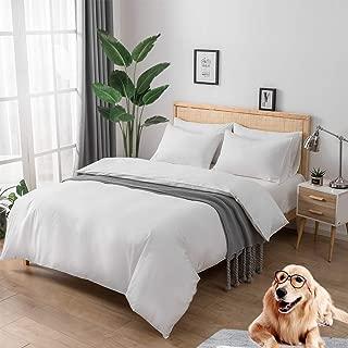 Best soft white bedding Reviews