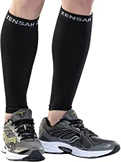 Zensah Compression Helps shin splints, Leg Sleeves for Running