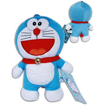 Gato Doraemon Sonrisa Peluche 22cm Muñeco Dibujos Animados Serie ...