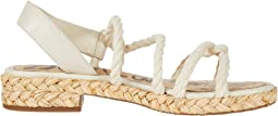 Modern Ivory Casual Rope/Butter Nappa Leather