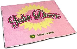 pink john deere bedding twin