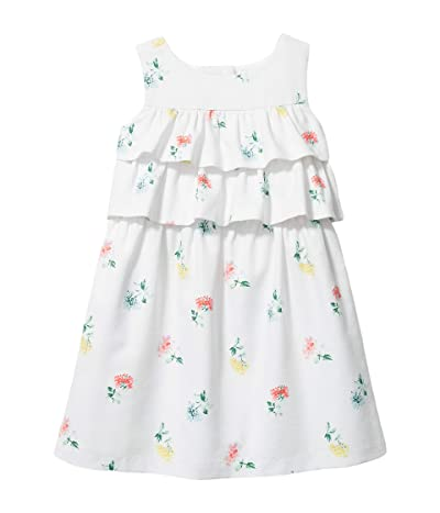 Janie and Jack Tiered Top Floral Dress (Toddler/Little Kids/Big Kids)