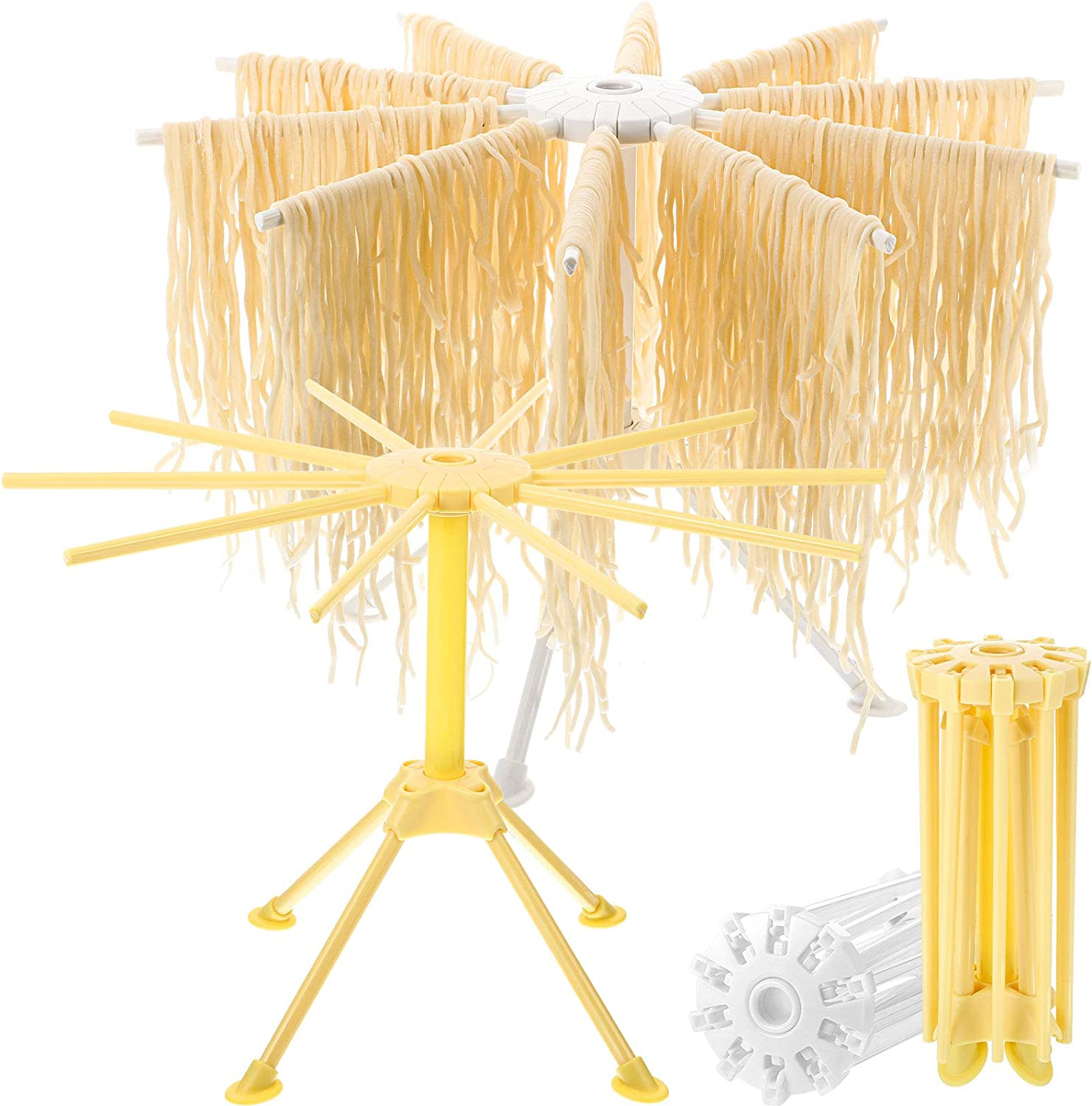 Some Max 47% OFF reservation 2 Pieces Handmade Pasta Drying Han Maker Collapsible Noodle Rack