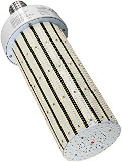 300 Watts LED Corn Light Bulb E39 Mogul Base 5,000K Daylight Retrofit Conventional Factory Warehouse Workshop HID High Bay Fixture UL Listed DLC Approved (Only for Open Fixture)