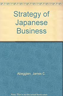 Strategy of Japanese Business