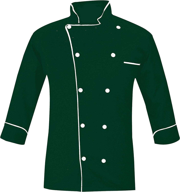 Renaxa Creation PN-05 Men's Chef ギフト プレゼント ご褒美 NEW売り切れる前に☆ Piping Jacket Coat in Mult