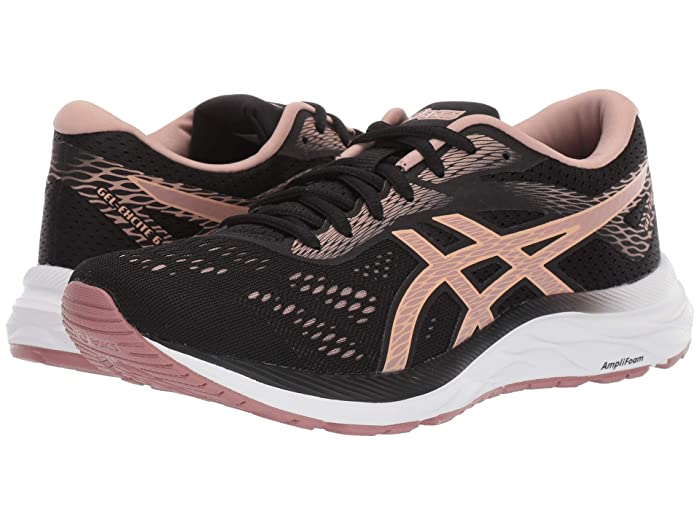 ASICS  GEL-Excite 6 (Peformance Black/Dusty Steppe) Womens Running Shoes