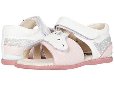 Livie & Luca Unicorn (Toddler/Little Kid) (Bright White) Girl