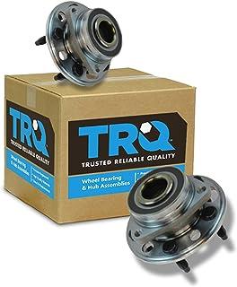 TRQ Wheel Hub & Bearing Assembly Pair Set of 2 for Buick Chevy GMC Saab