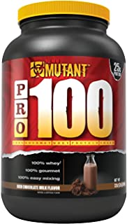 Mutant Pro a 100% Whey Protein Shake with No Hidden Ingredients, Comes in Delicious Gourmet Flavors, 2 lb - Rich Chocolate Milk