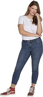Volcom Women's Junior's Plus Size Liberator Legging Fit Jean