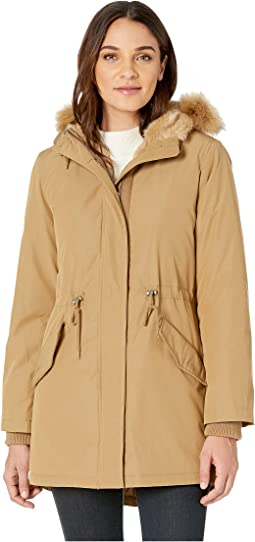 Arctic Cloth Parka with Hood