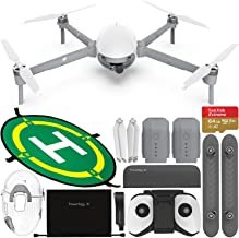 $1249 » PowerVision PowerEgg X Wizard Waterproof AI Camera & Drone with Starter Accessory Bundle - Includes: SanDisk Extreme 64GB microSDXC Memory Card (UHS-I/V30/U3/A2) + Waterproof Landing Pad (50cm/20in)