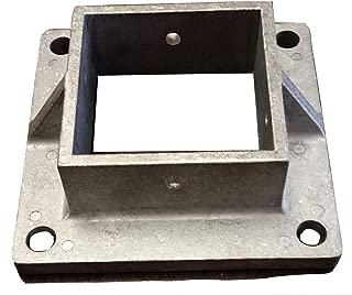 Aluminum Heavy Duty Floor Post Flange fits 2 1/2