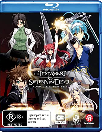 The Testament Of Sister New Devil Complete Season 1 & 2 (Blu-ray)