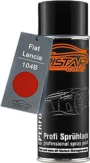 TRISTARcolor Autolack Spraydose für FIAT/Lancia 104B Arancio Gustoso/Calypso Orange Basislack Sprühdose 400ml