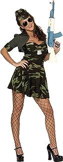Smiffy's Military Babe Costume, Camouflage, Medium, 33078M