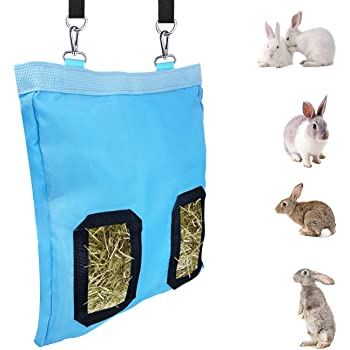 GABraden Small Animals 1200D Nylon Hay Bag Guinea Pig Hanging Pouch Feeder or Guinea Pigs and Rabbits