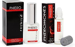 Feromonas - Phiero Premium + Phiero Night Man: Perfumes con feromonas para hombre