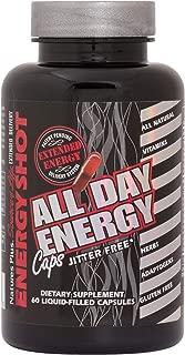 NaturesPlus Source of Life Energy Shot - 60 Liquid Filled Vegan Capsules - Jitter-Free 8 Hour Energy - Whole Foods & Antioxidants - Vitamin B12 - Vegetarian - 30 Servings