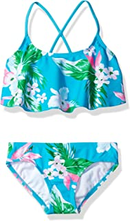 Kanu Surf Girls' Alania Flounce Bikini Beach Sport...