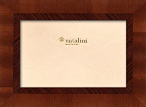 5X 7 Tulipwood Natalini Marquetry Photo Frame Made in Italy Natural Wood