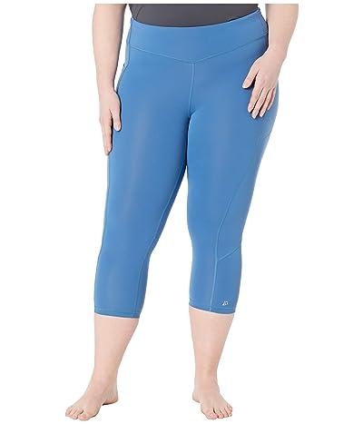 Skirt Sports Plus Size Pocketopia Capris (Deep Blue) Women
