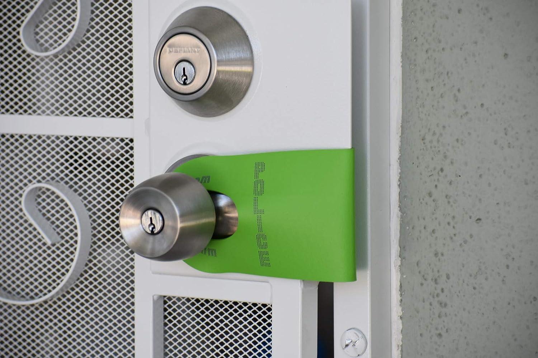 White DoorJamm Tactical Door Stop