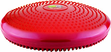 GoFit Core Stability Disk for Balance, Core Strength and Ab Workouts, Yoga, Pilates