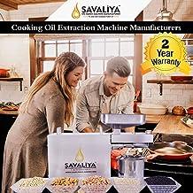 Savaliya Industries SI-702 Fully Automatic Stainless Steel Press Oil Maker Machine (घरबैठे खाद्यतेल बनाने का मशीन):: Made ...