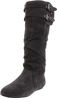 Naughty Monkey Women's Zahara Boot,Grey,6 M US