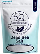 Natural Elephant Dead Sea Salt 100% Natural & Pure 1 lb, 2 lb, 5 lb, 10 lb Bag Fine Grain for Psoriasis Eczema Acne & othe...