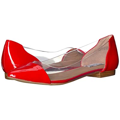 Steve Madden Clearly (Red Patent) Women