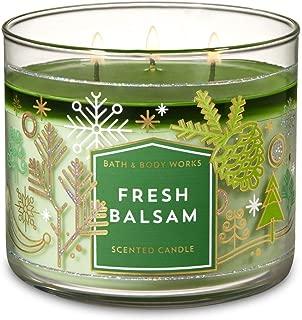 Bath & Body Works Slatkin & Co. Fresh Balsam 3-wick Candle