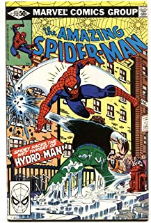AMAZING SPIDER-MAN #212 First HYDRO MAN 1981 MARVEL VF-