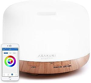 ASAKUKI Smart Wi-Fi air cleaner & humidifier